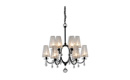 VAL Chandelier (Off Black)
