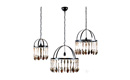 Brocante Chandelier (Single Tier)