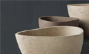Organic Form Clay Planter