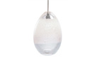 Bubble Pendant Clear Egg